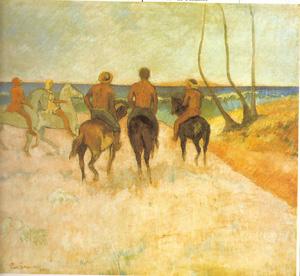 Gauguinjinetesenlaplaya