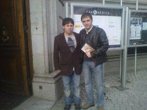 Oscar Sipán y Marcelo Luján.