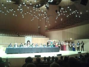Aspecto general del acto ( Fotos Miguel Ángel Yusta